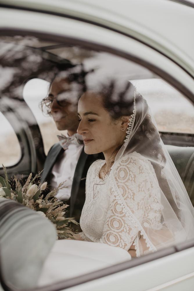 portrait de la mariée - photographe mariage paris - photo cool mariée - portraits naturels mariage - leslie photographie